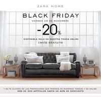 ¡Ya es oficial! El viernes será Black Friday en Zara Home, con descuentos de hasta el 40%
