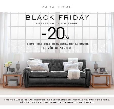 b30baf27 El viernes será Black Friday en Zara Home, con descuentos de hasta el 40%
