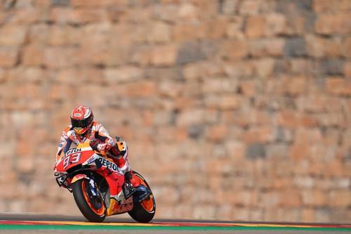 ¡Inalcanzable! Marc Márquez consigue una pole position de otro mundo en Aragón