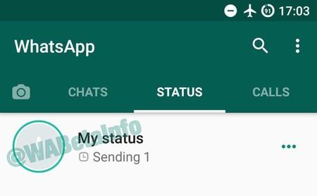 Nuevas pestañas en WhatsApp