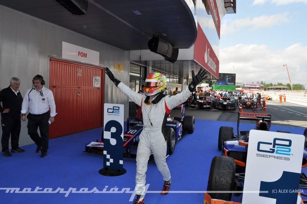 Foto de GP2 2013 Barcelona (25/138)