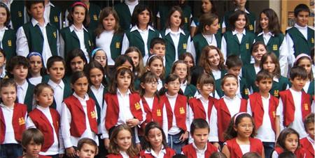 Concierto familiar en el Jardín Botánico de Valencia: actúa la Escuela Coral del colegio Vicente Gaos