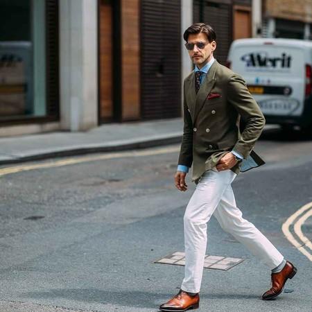 El Mejor Street Style De La Semana Llega De La Mano De La London Fashion Week Men S 06