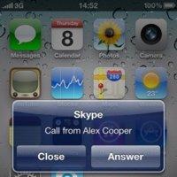 Skype 2.1 para iOS 4, llega el ejemplo de multitarea mostrado por Jobs