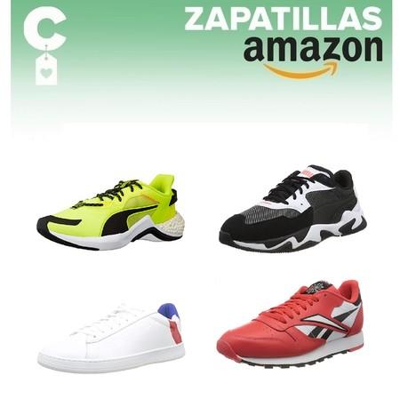 Chollos en tallas sueltas de zapatillas Puma, Reebok, Kappa o Le Coq Sportif por menos de 40 euros en Amazon