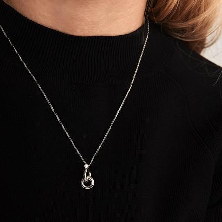 Collares De Plata Para Mujer 07