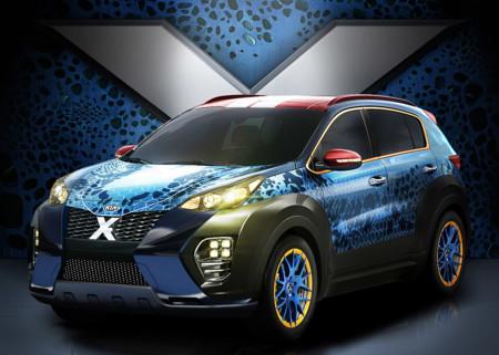 Cuidado con el Kia Sportage, que puede ser un SUV con poderes ocultos como los X-Men