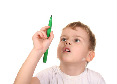 El método del bolígrafo verde: resalta los aciertos de tu hijo en lugar de sus errores