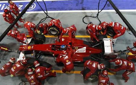 No todas las mejoras de Ferrari funcionaron en Singapur