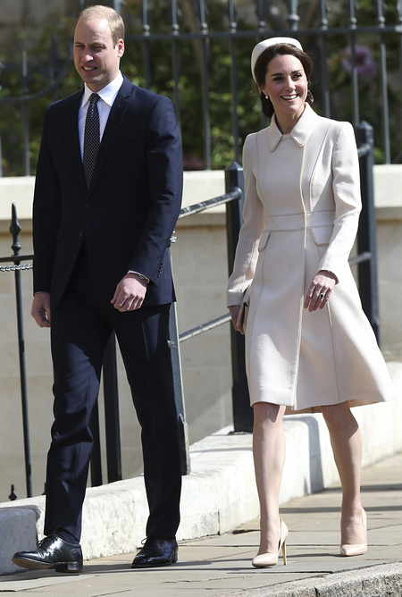 kate middleton look estilismo sombrero pascua