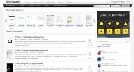 DocShare, otra opción más para compartir nuestros documentos en Internet
