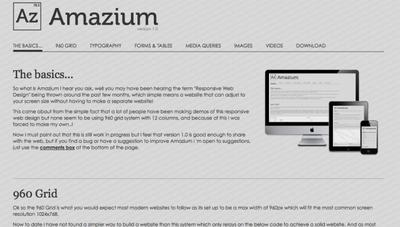 Un framework bastante apañado para diseño web sensible (responsive)
