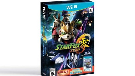 Star Fox Zero llegará en un paquete con Star Fox Guard el 22 de abril