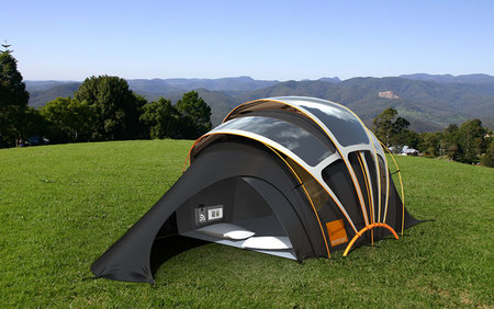 The Orange Solar Concept Tent