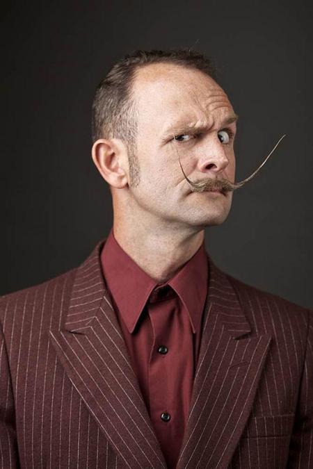 Inspírate para Movember con las locos bigotes del World Beard and Moustache Championship