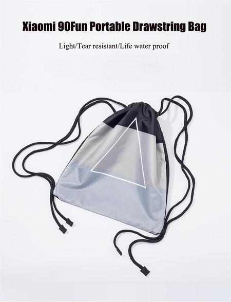 Oferta Flash: bolsa de gimnasio Xiaomi 90Fun por sólo 6,22 euros y envío gratis
