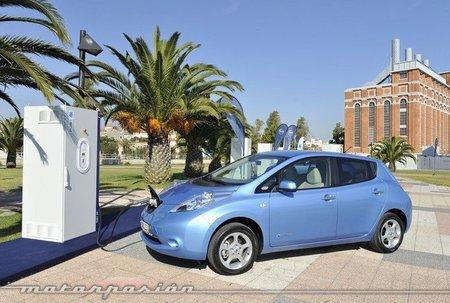 El Nissan Leaf se pone las pilas en Europa
