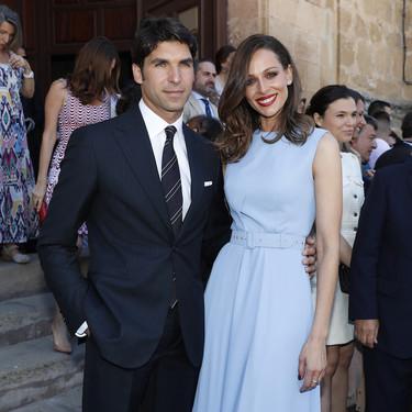 Así es el vestido de color pastel que ha elegido Eva González para el bautizo de su primer hijo