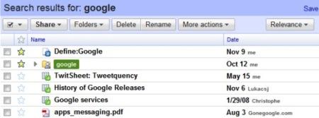 Novedades en Google Docs: orden por relevancia y exportación masiva