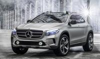 Mercedes-Benz GLA Concept, rumbo a Shangai