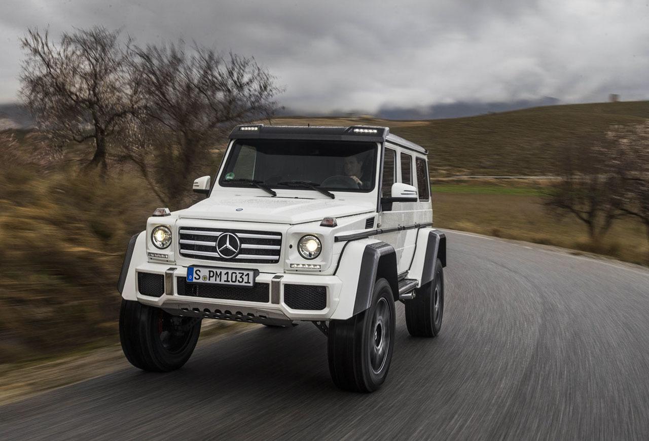 Foto de Mercedes-Benz G 500 4x4², toma de contacto (75/127)
