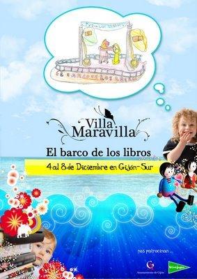 Villa Maravilla, I Feria del libro infantil y juvenil en Gijón