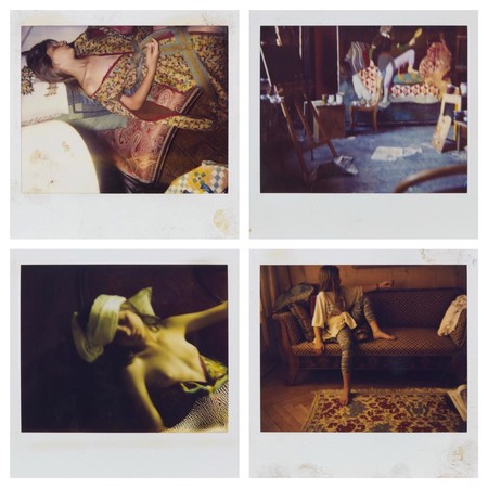 Polaroids Balthus de Anna Wahli