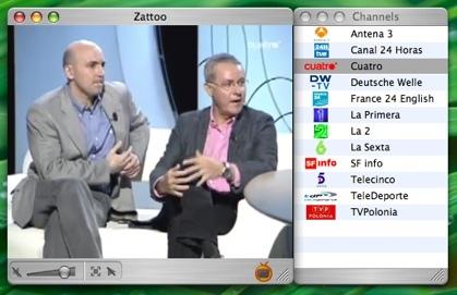 Zattoo: Impresionante software para ver televisión por Internet