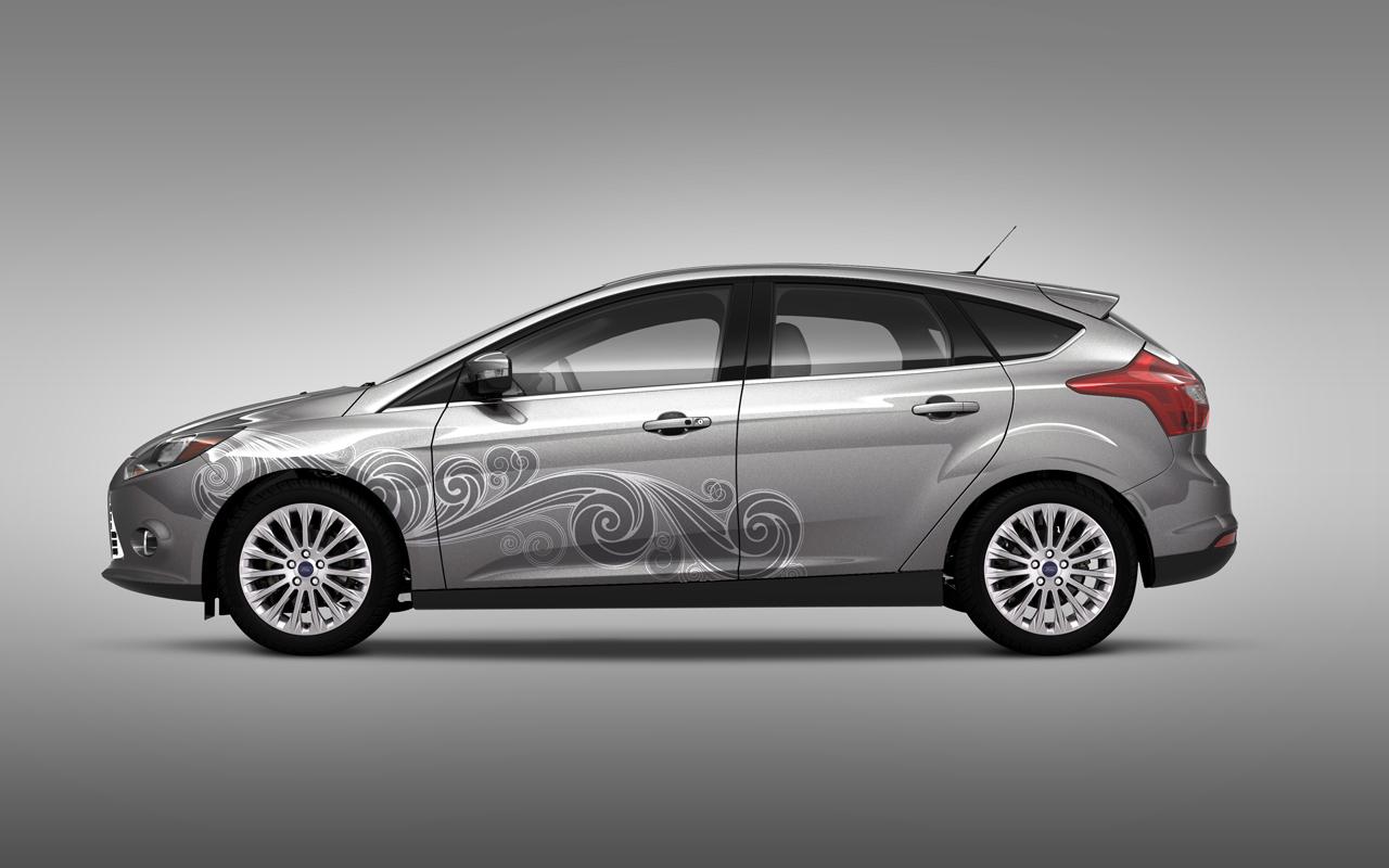 Foto de Ford Focus 2012 Vinilos (5/8)