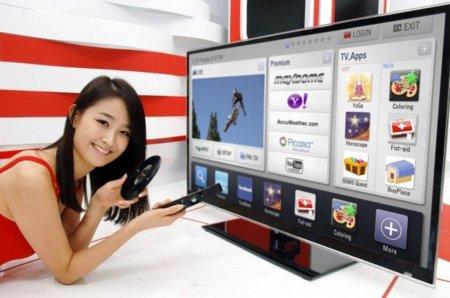 LG amplía su Internet en el televisor con Smart TV