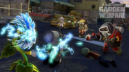 Un vistazo al modo Gardens & Graveyards de 'Plants vs. Zombies: Garden Warfare'