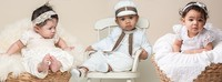 Moda para bebés: trajes de cristianar y bautizo