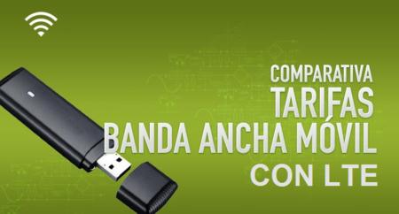 ¿Cuánto nos costará usar redes LTE? Comparativa de tarifas de Banda Ancha móvil con LTE