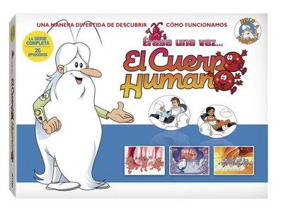 Érase una vez: El Cuerpo Humano, en DVD, por 20,62 euros en Amazon