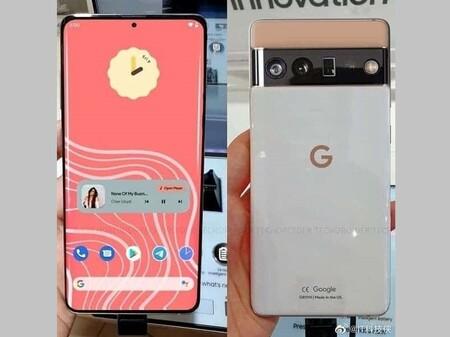 Este es el Pixel 6 Pro: se filtra en toda su gloria el próximo flagship de Google con acabado bitono y curioso módulo de cámaras