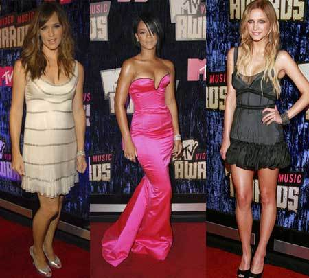 Alfombra roja en los MTV Video Music Awards 2007
