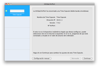 Configura tu WIFI mediante MAC usando un Airport Extreme o Time Capsule