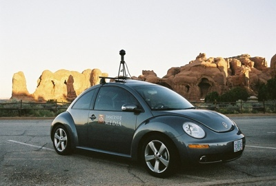 El Volkswagen Beetle que trabaja para Google Maps
