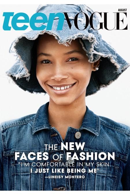 Teen Vogue Portada Agosto 2015 Lineisy Montero Imaan Hammam Aya Jones 2