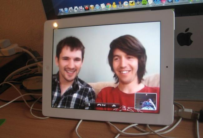 apple ipad facetime videoconferencia