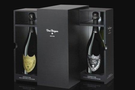 Side by Side, cofre con dos vinos Dom Pérignon