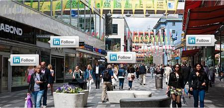 LinkedIn lanza un botón para seguir las actualizaciones de las empresas