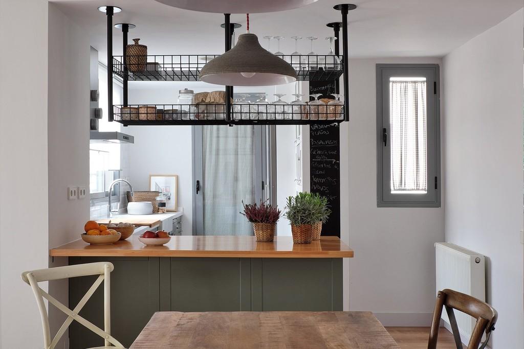 Vivienda En Las Tablas cocina Integrada Salon 1920x1280