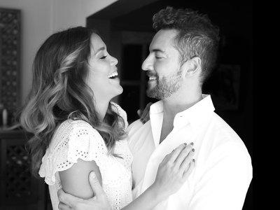 Bisbal y Rosana Zanetti, una pareja de hecho bien avenida