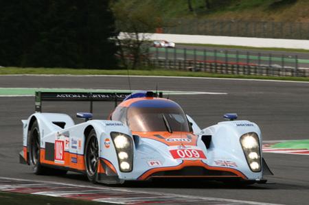 Jos Verstappen destroza un Aston Martin en Monza