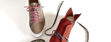 """Las zapatillas de esta firma """"made in Spain"""" no llevan pegamentos, son completamente customizables y se terminan de hacer en casa"""