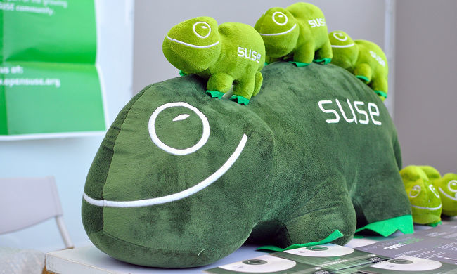Peluches OpenSUSE