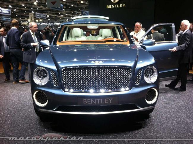 Bentley EXP 9