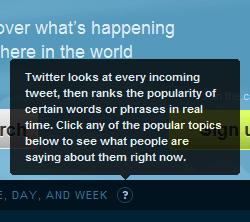 Explicación sobre el significado de los Trending Topics