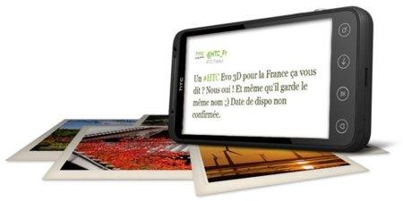 HTC EVO 3D camino a Europa